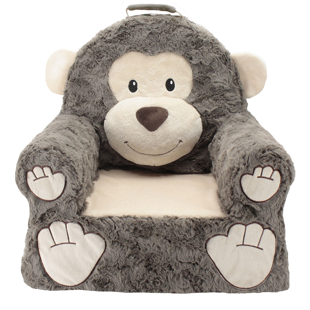 Front view of monkey sweat seat chair