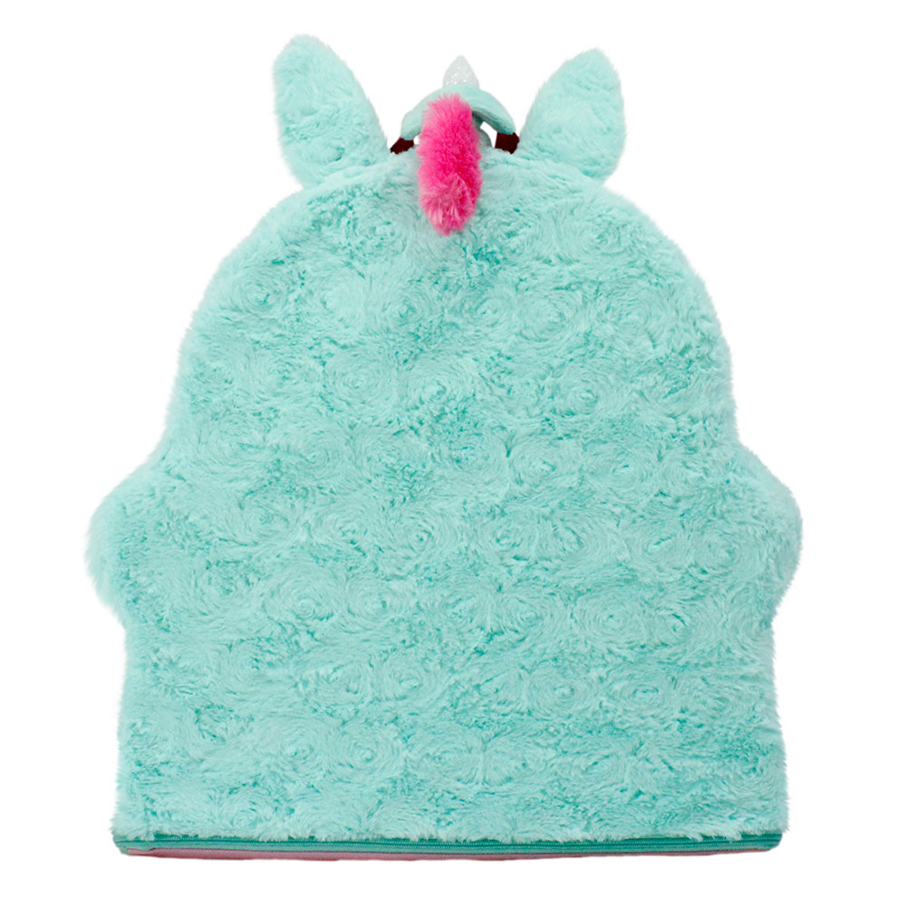 Rear view of unicorn sweet seat for kids